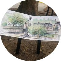 Exposition Urban Sketchers Luxembourg -